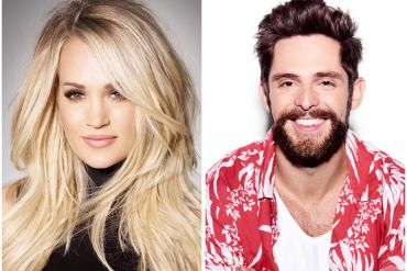 Carrie Underwood; Photo by Randee St. Nicholas, Thomas Rhett; Photo by John Shearer