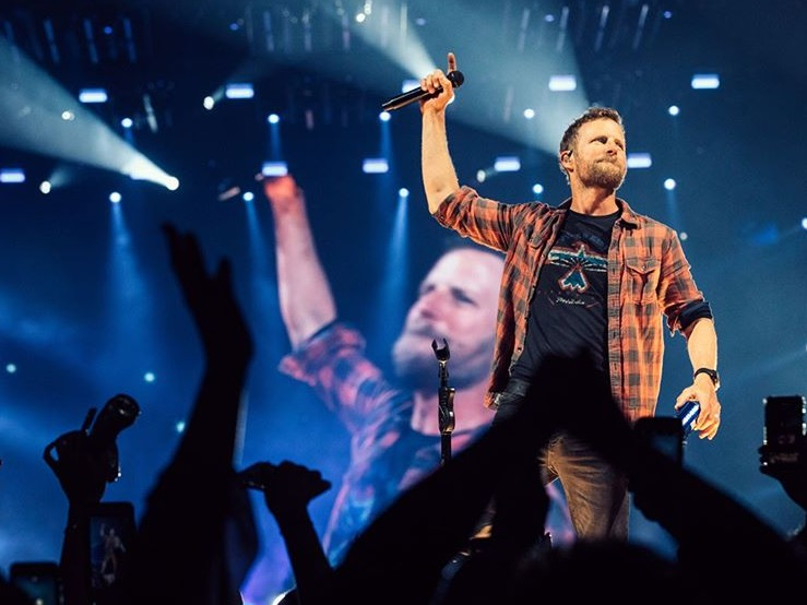 Dierks Bentley in Desert Son; Photo via Instagram