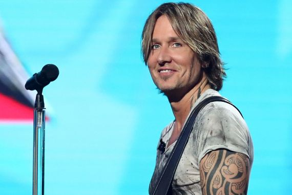 Keith Urban; Photo by Mark Metcalfe/Getty Images