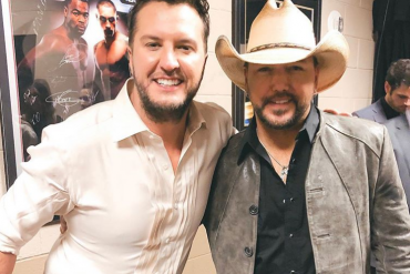 Luke Bryan and Jason Aldean; Photo via Instagram