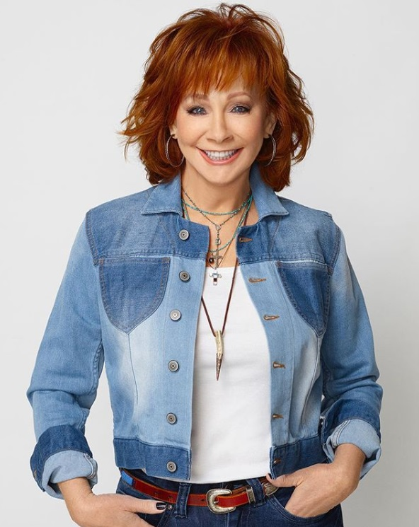 Reba in Reba at Dillard's; Photo via Instagram