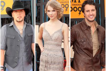 Jason Aldean, Taylor Swift, Luke Bryan