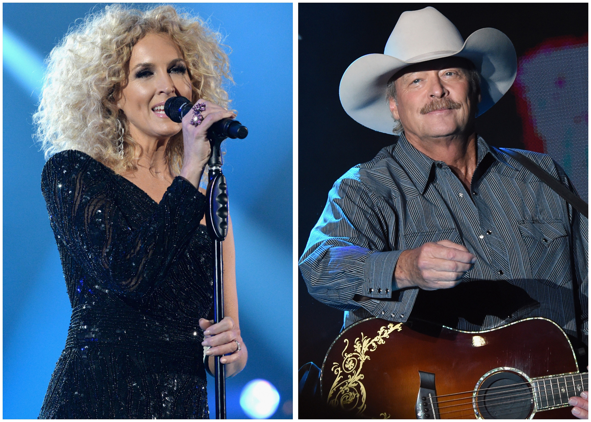 Kimberly Schlapman, Alan Jackson. Courtesy Getty Images.