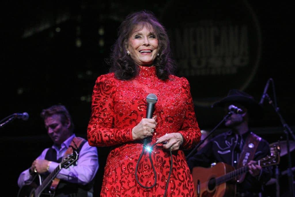 Loretta Lynn; Photo by Terry Wyatt/Getty Images for Americana Music