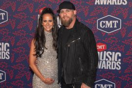 Brantley Gilbert and Wife, Amber; Photo by Andrew Wendowski