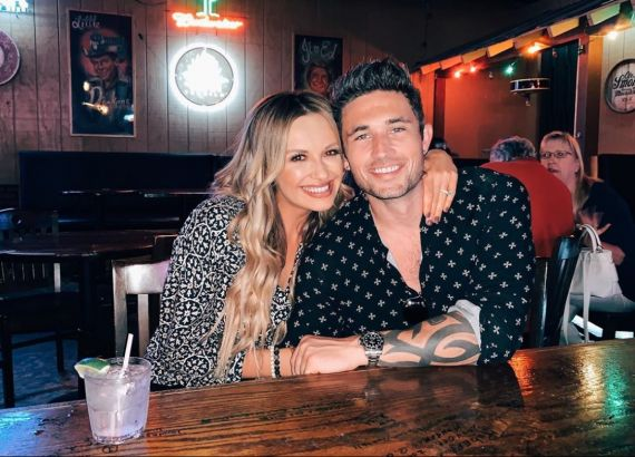 Carly Pearce and Michael Ray; Photo via Instagram