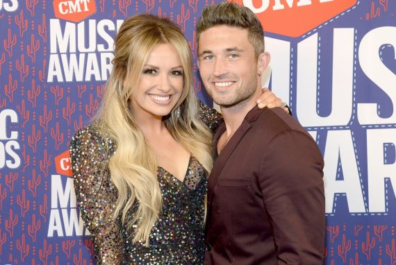 Carly Pearce and Michael Ray; Photo by Rick Diamond/Getty Images for CMT