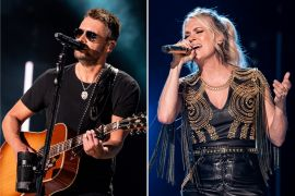 Eric Church, Carrie Underwood; Photos by Andrew Wendowski