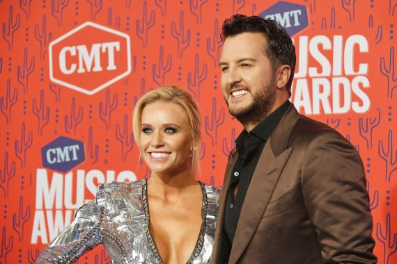 Luke Bryan and Caroline Boyer; Photo by Mike Coppola/Getty Images for CMT