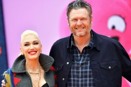 Gwen Stefani and Blake Shelton; Photo by Emma McIntyre/Getty Images