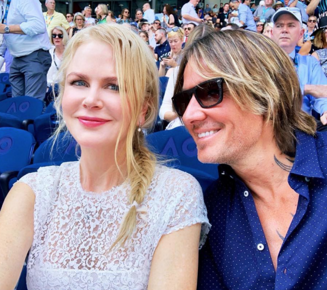 Keith Urban and Nicole Kidman; Photo via Instagram