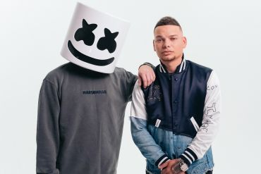 Marshmello, Kane Brown; Photo by Daniel Malikyar