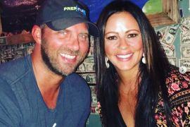 Sara Evans and Jay Barker; Photo via Instagram