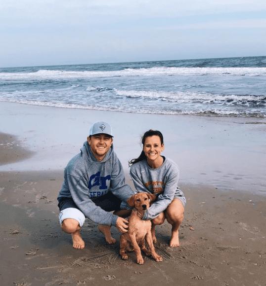 Scotty McCreery and Wife; Photo via Instagram