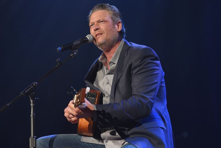 Blake Shelton; Photo by Jason Kempin/Getty Images
