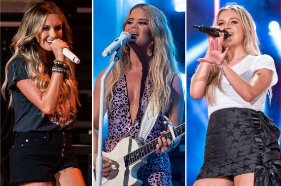 Carly Pearce, Maren Morris, Kelsea Ballerini; Photos by Andrew Wendowski
