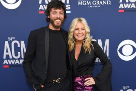 Chris Janson and Kelly Lynn; Photo by Ethan Miller/Getty Images