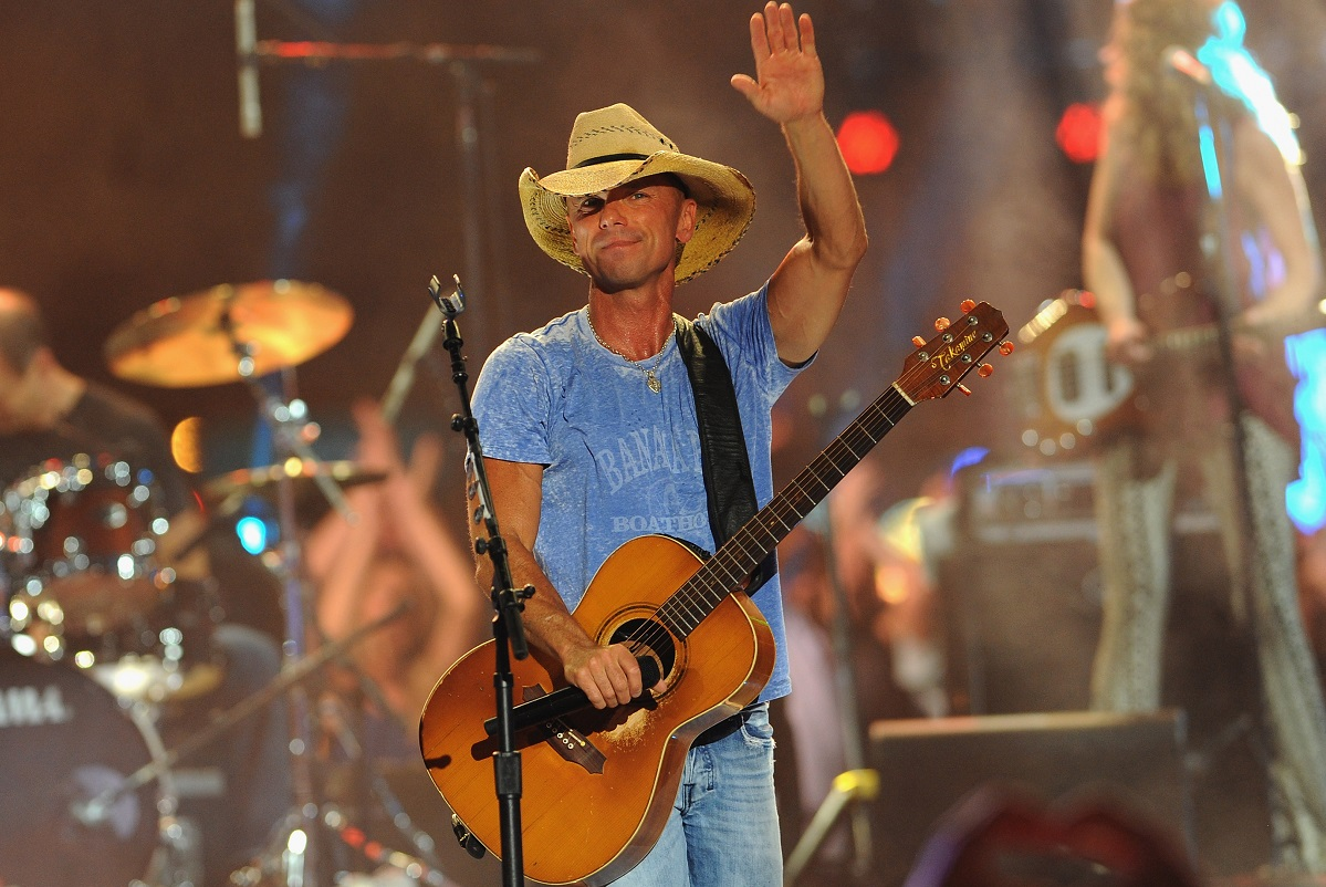 Kenny Chesney; Photo by Erika Goldring/Getty Images for CMT