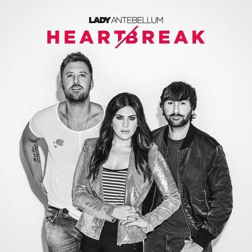 Lady Antebellum - Heart Break; Image Courtesy Capitol Records Nashville