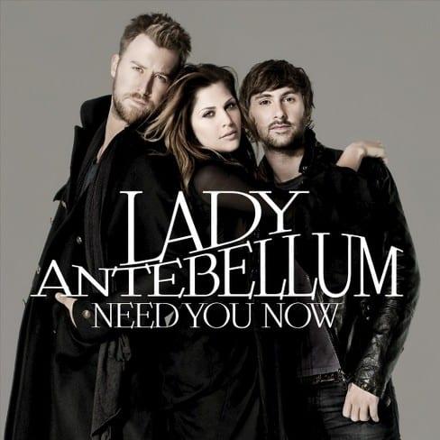 Lady Antebellum - Need You Now; Image Courtesy Capitol Records Nashville