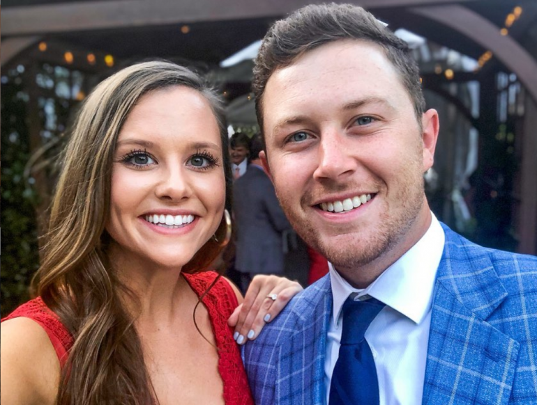 Scotty McCreery and Gabi; Photo via Instagram