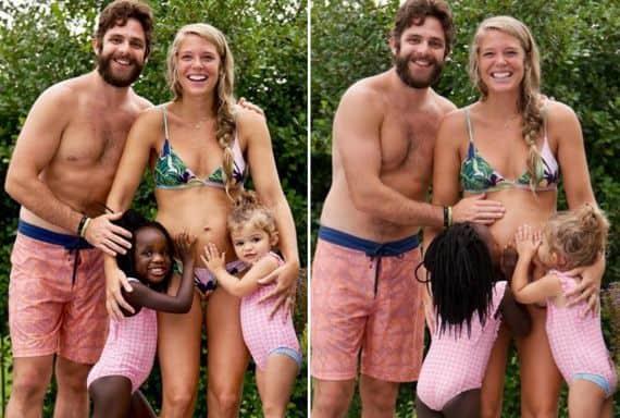 Thomas Rhett and Family; Photos via Instagram