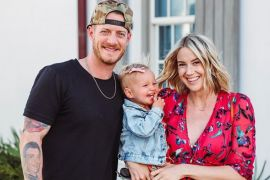 Tyler Hubbard, Hayley; Photo via Instagram