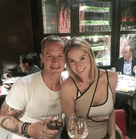 Tyler Hubbard and Wife, Hayley; Photo via Instagram