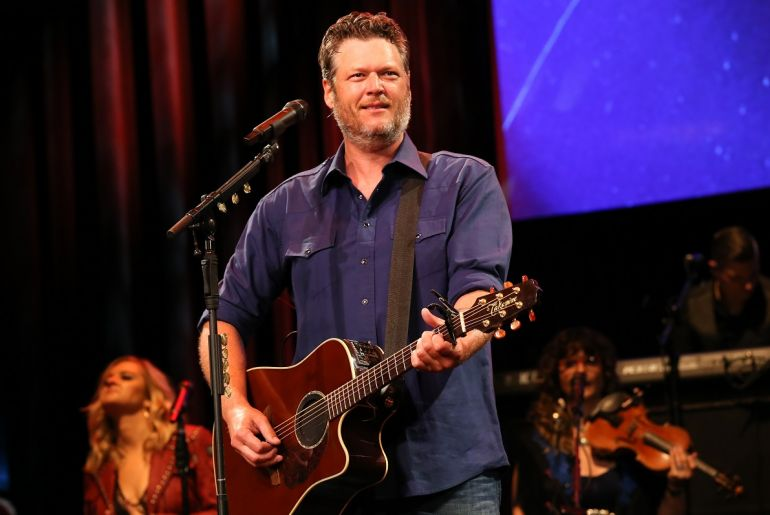 Blake Shelton; Photo by Terry Wyatt/Getty Images for Musicians On Call