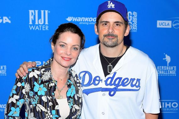 Kimberly Williams-Paisley and Brad Paisley; Photo by Charley Gallay/Getty Images for FIJI Water