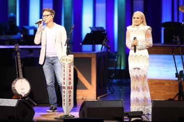 Bryan White, Carrie Underwood; Photo via Instagram
