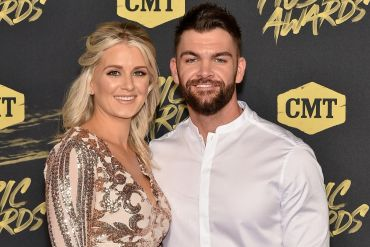 Dylan Scott and Wife, Blair; Photo by Mike Coppola/Getty Images for CMT