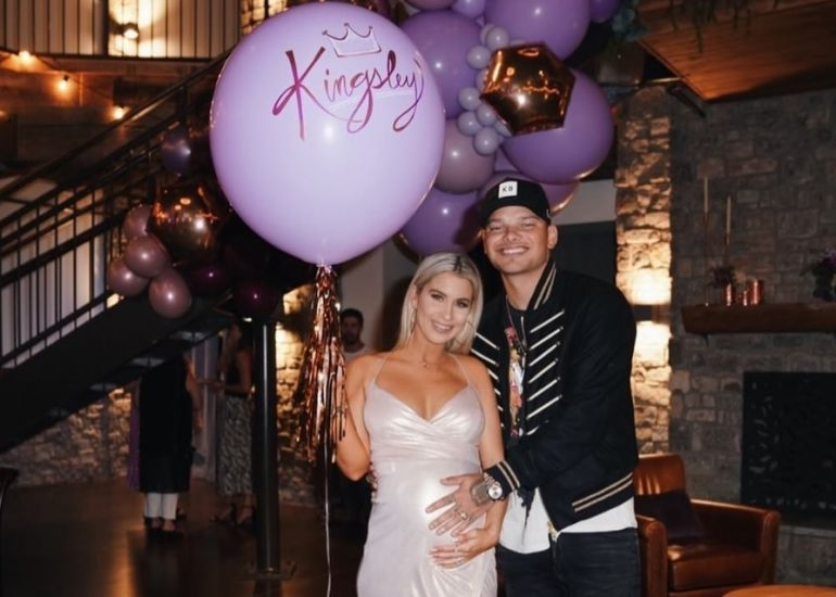 Kane Brown and Wife; Photo via Instagram