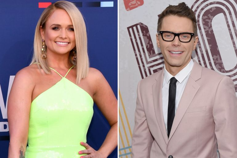 Miranda Lambert; Photo by Ethan Miller/Getty Images, Bobby Bones; Jason Kempin/Getty Images for ACM