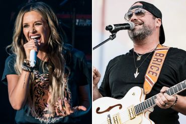 Carly Pearce; Photo by Andrew Wendowski, Lee Brice; Photo by Danielle Del Valle Getty Images