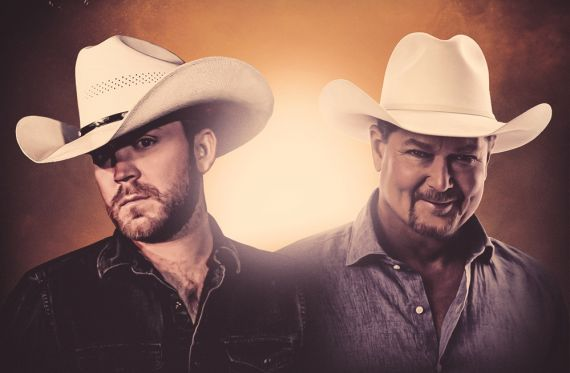 Justin Moore, Tracy Lawrence; Photo Courtesy the Artists