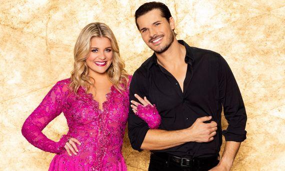 Lauren Alaina and Gleb Savchenko; Photo Courtesy ABC/Craig Sjodin