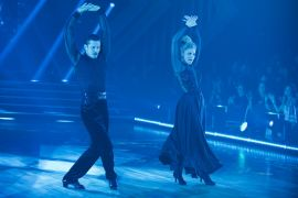 Gleb Savchenko, Lauren Alaina; Photo by ABC/Eric McCandless