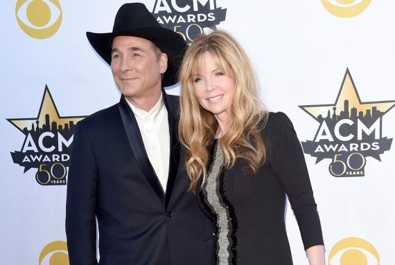 Clint Black and Lisa Hartman Black; Photo by Jason Merritt/Getty Images
