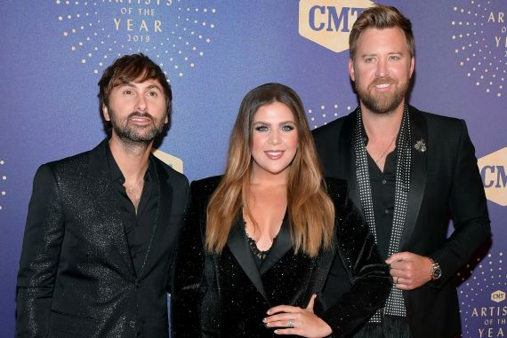 Lady Antebellum; Photo by Jason Kempin/Getty Images for CMT/Viacom