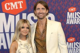 Maren Morris, Ryan Hurd; Photo by Rick Diamond/Getty Images for CMT