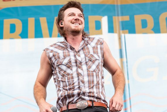 Morgan Wallen; Photo by Andrew Wendowski