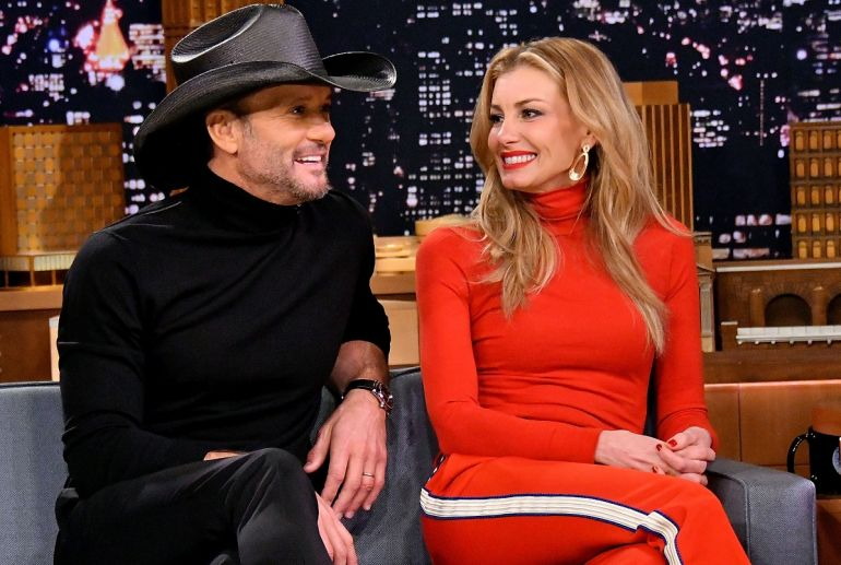 Tim McGraw and Faith Hill Photo by Mike Coppola/Getty Images