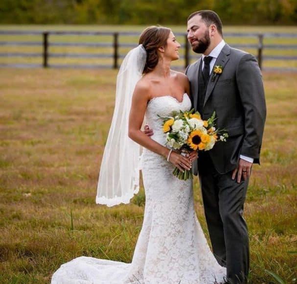 Tyler Farr and Wife, Hannah; Photo via Instagram