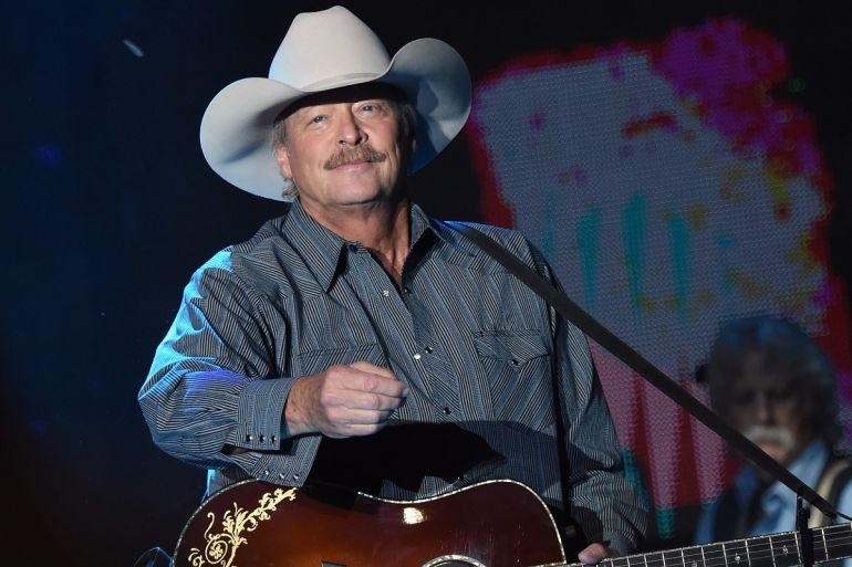 Alan Jackson; Photo by Rick Diamond/Getty Images for Tree Town Music Festival
