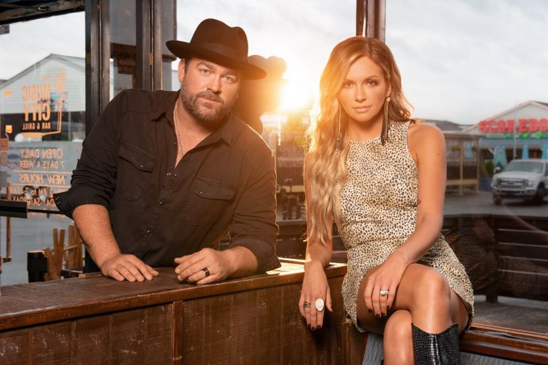 Carly Pearce, Lee Brice; Photo by John Shearer