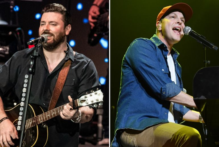 Chris Young; Photo by Andrew Wendowski, Gavin DeGraw; Photo by Ethan Miller/Getty Images