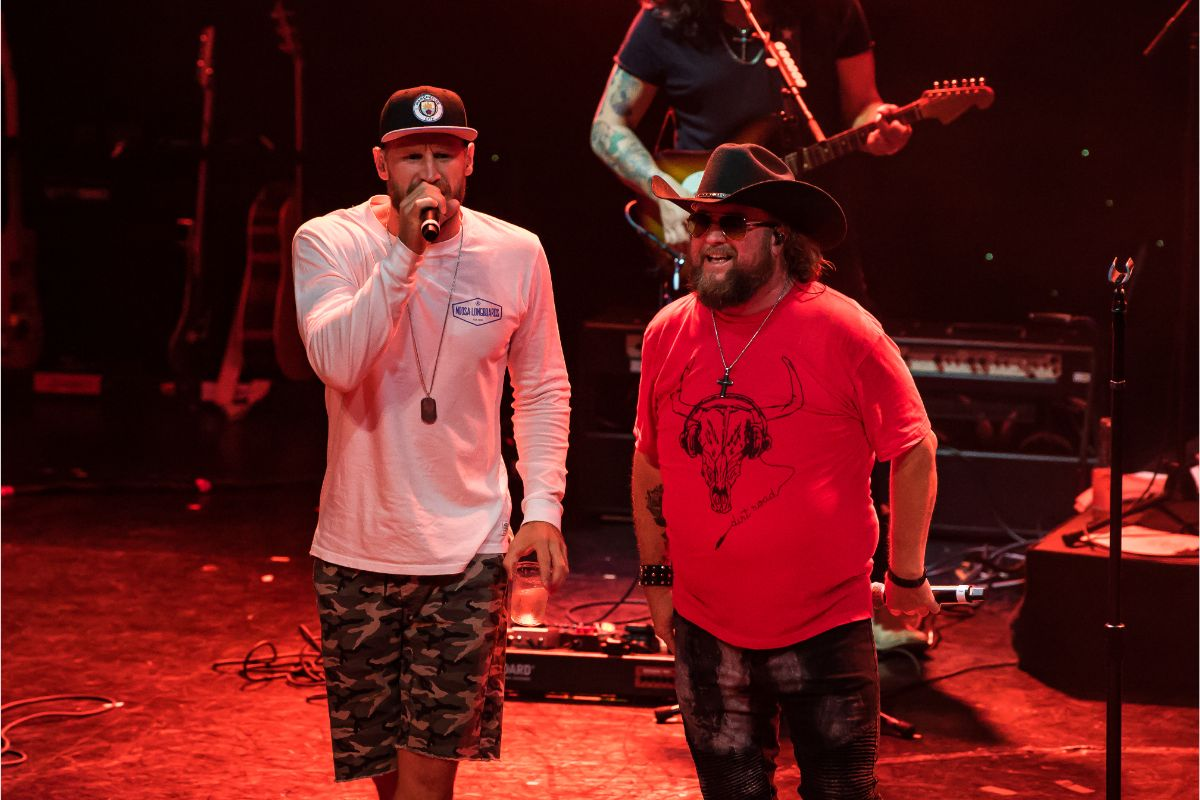 Chase Rice & Colt Ford; Photo by Andrew Wendowski