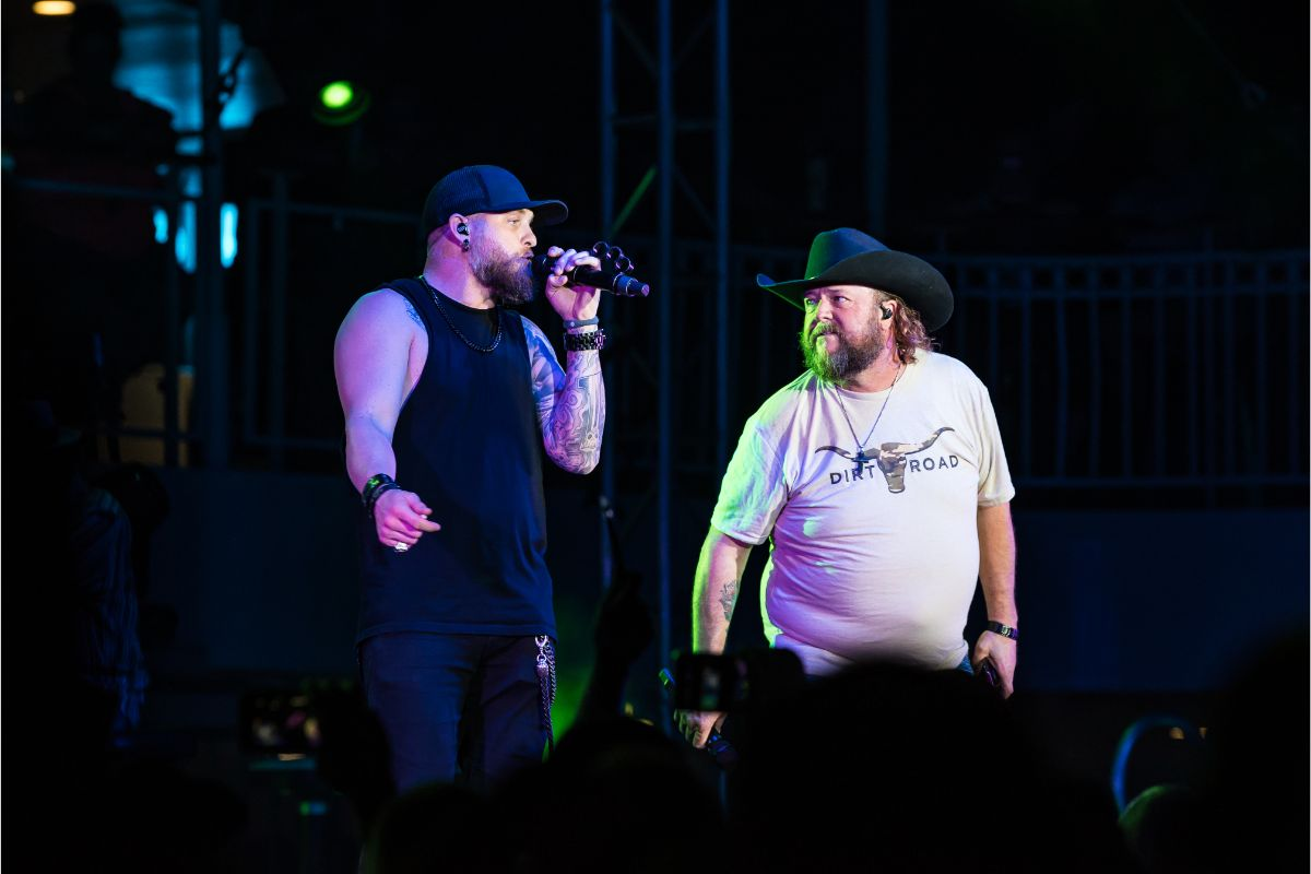 Brantley Gilbert and Colt Ford; Photo by Andrew Wendowski