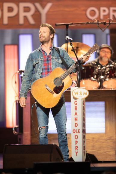 Dierks Bentley; 2019 Photo by Chris Hollo © Grand Ole Opry